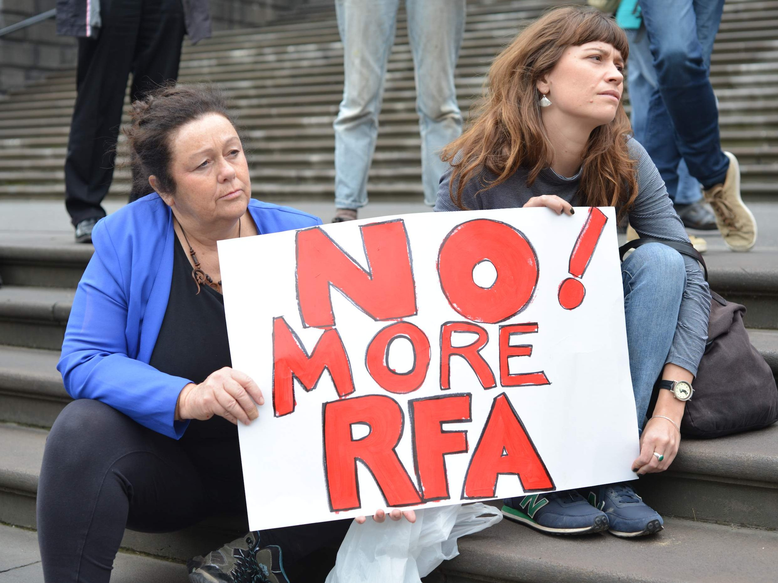No more RFA