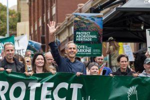March for tarkayna/Tarkine (Bob Brown Foundation)